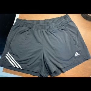 Adidas athletic shorts with pockets
